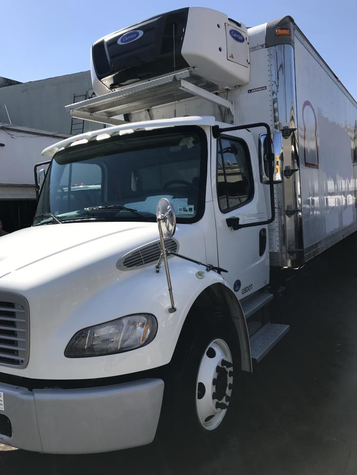 2015 Freightliner Business Class M2 106 Refrigerated Truck