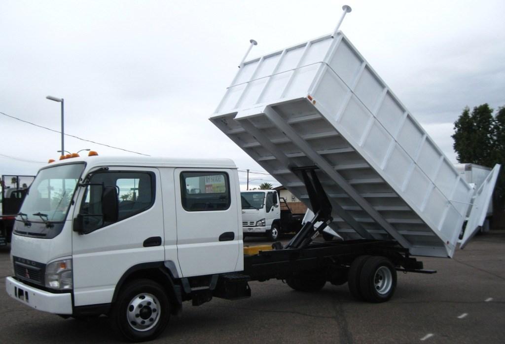 2007 Mitsubishi Fuso Fe145  Dump Truck