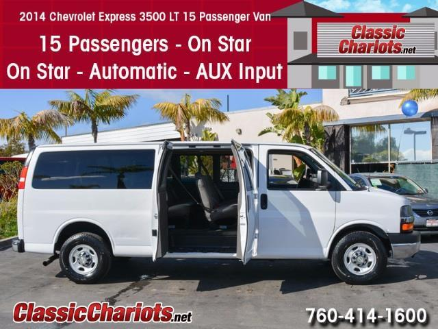 2014 Chevrolet Express 3500  Crew Van
