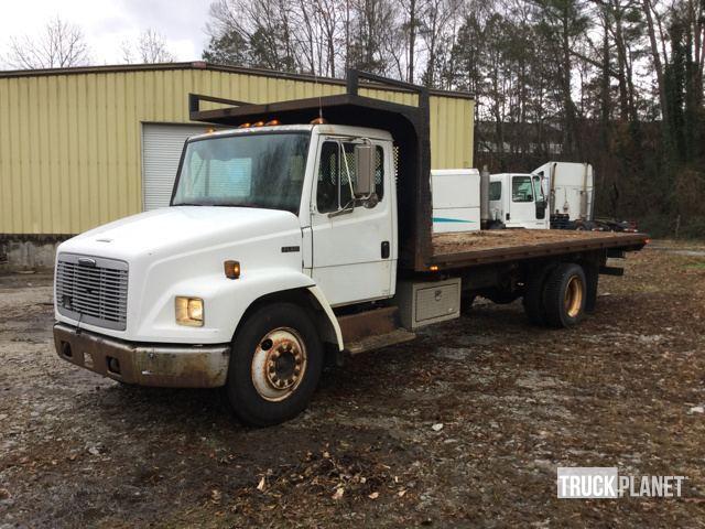 1997 Freightliner Fl60 Flatbed Truck