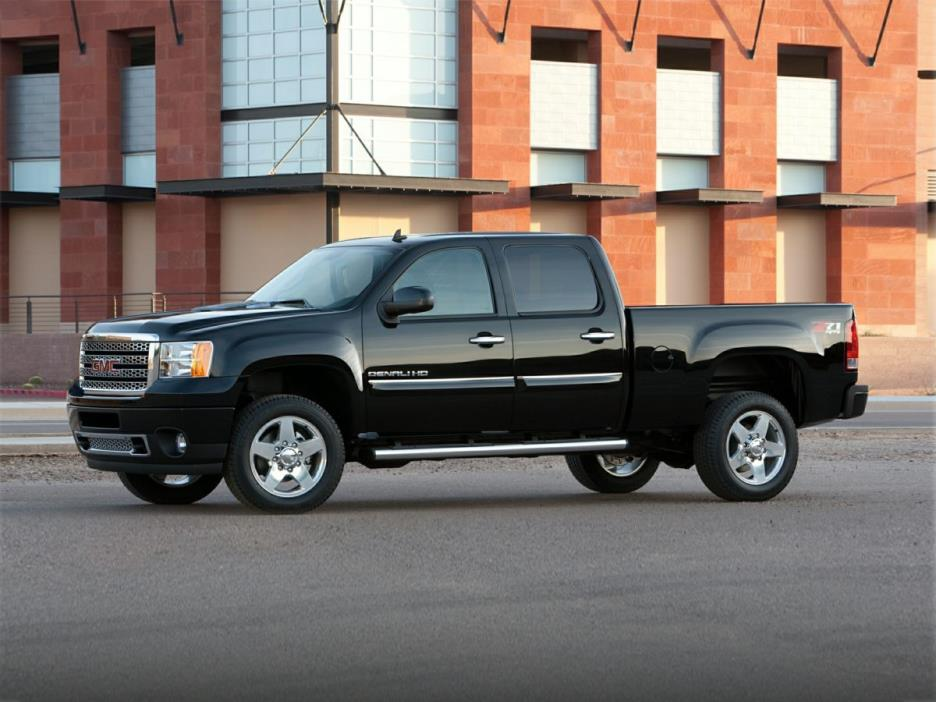 2012 Gmc Sierra 2500hd Pickup Truck