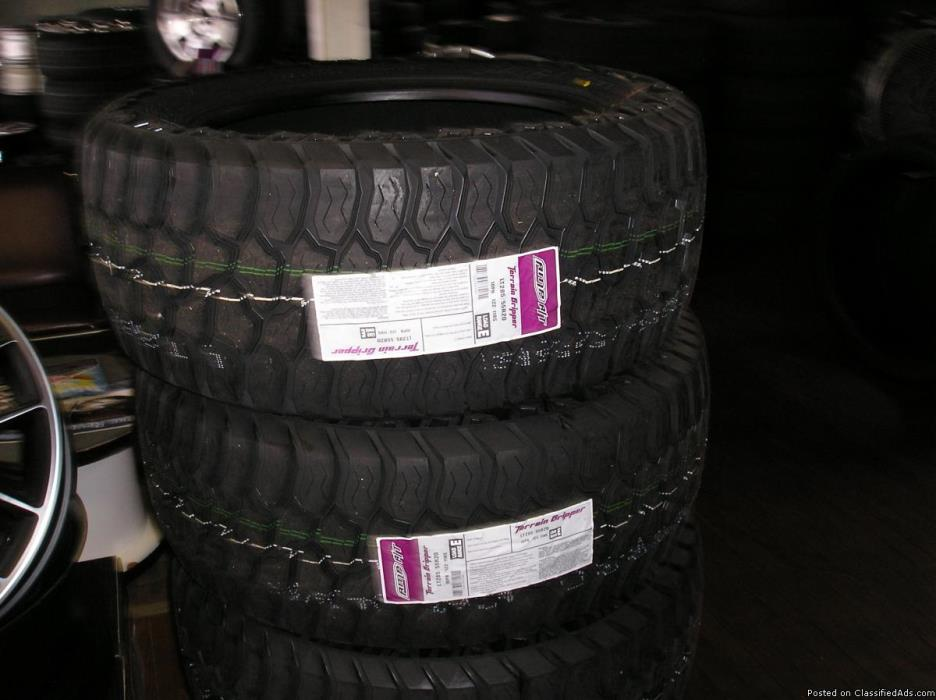 4 20 inch amp tires