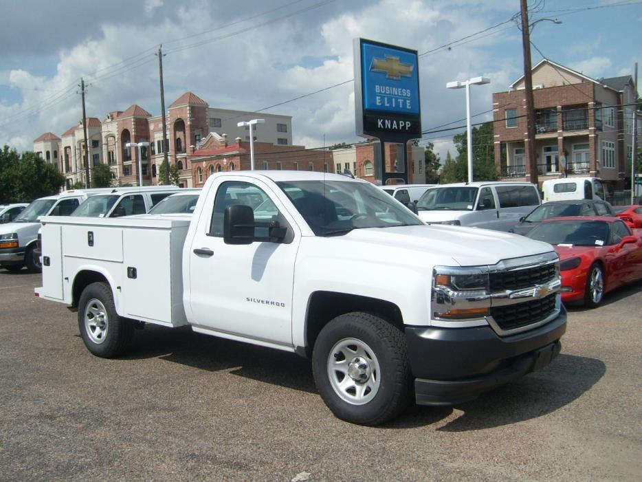 2016 Chevrolet C1500 Utility Truck - Service Truck