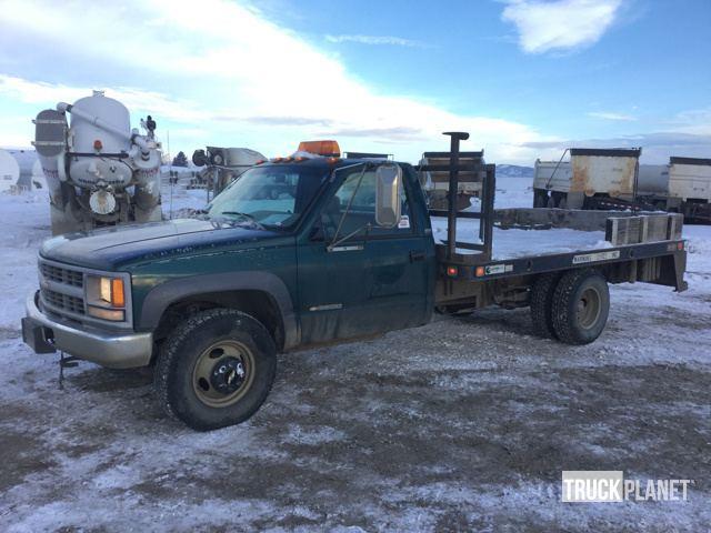 1995 Chevrolet Cheyenne K3500 4x4  Flatbed Truck