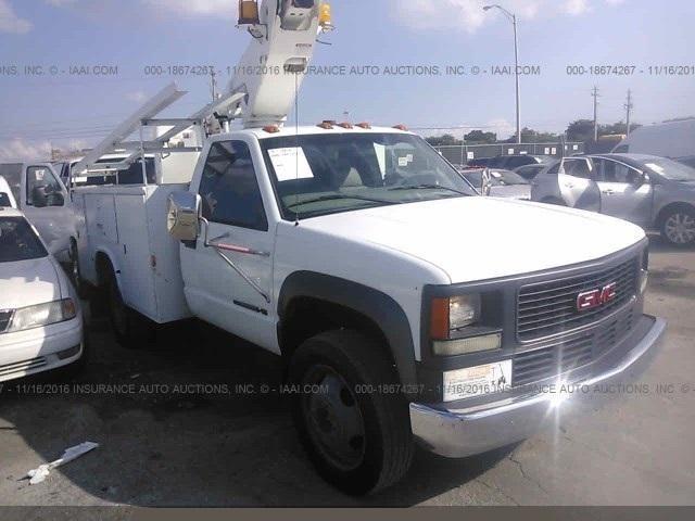 2000 Gmc Sierra 3500  Bucket Truck - Boom Truck