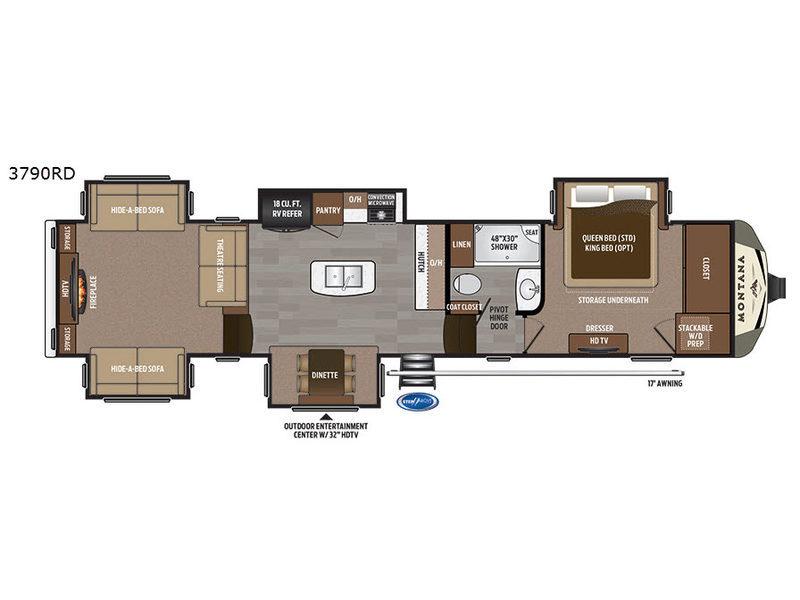 2017 Keystone Rv Montana 3790 RD