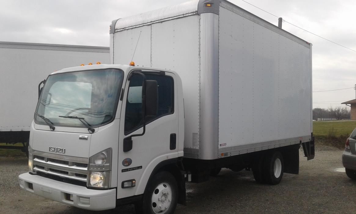 2010 Isuzu Npr Box Truck - Straight Truck