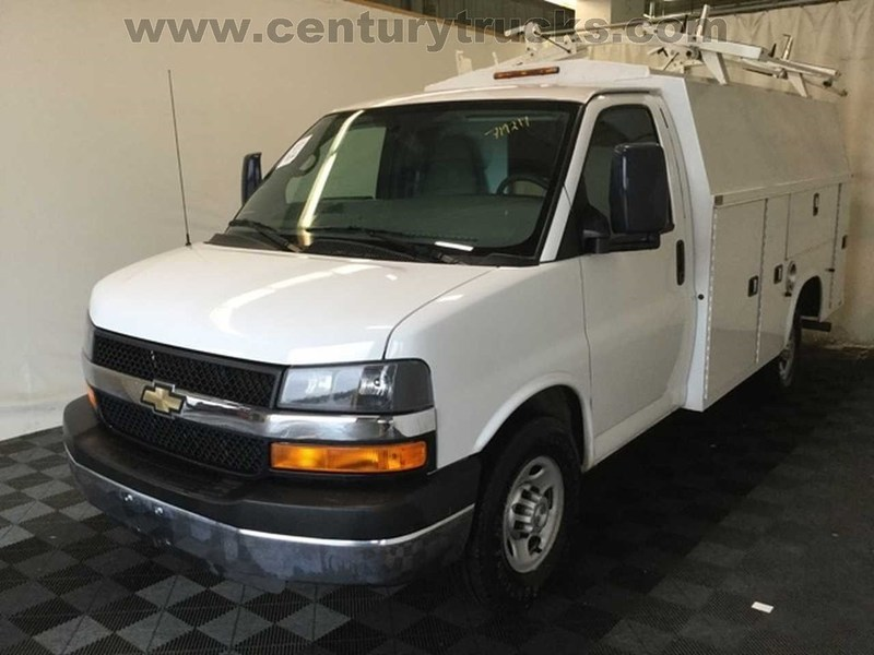 2014 Chevrolet 3500 Srw Express Utility Truck - Service Truck