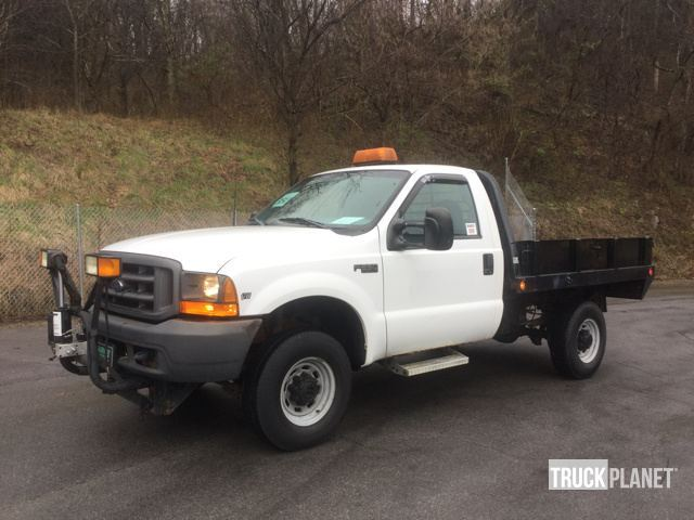 1999 Ford F-250 Super Duty 4x4 Flatbed Truck