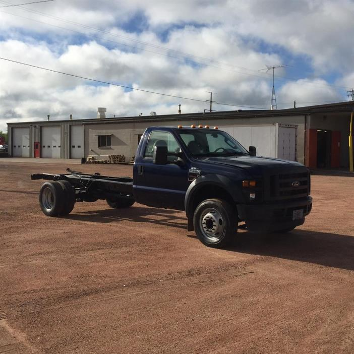 2008 Ford F550 Cab Chassis