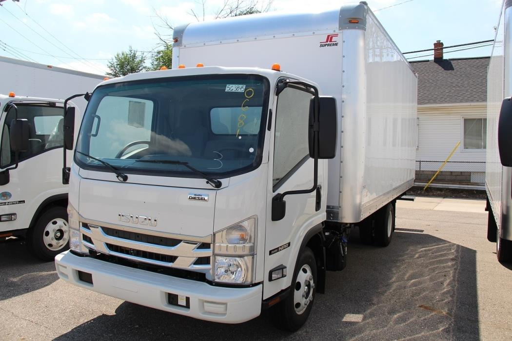 2016 Isuzu Npr Cabover Truck - COE