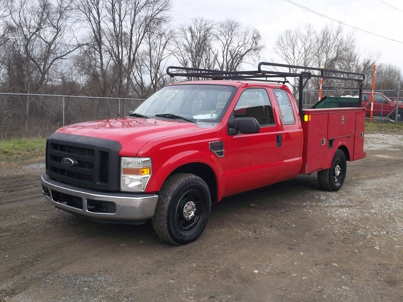 2008 Ford F350 Super Duty Xl  Mechanics Truck