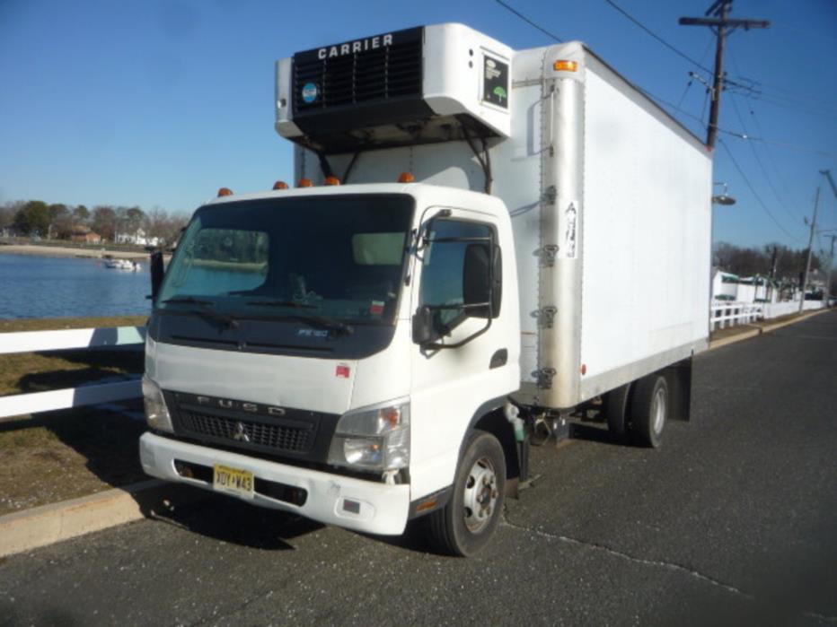 2010 Mitsubishi Fe-180  Refrigerated Truck