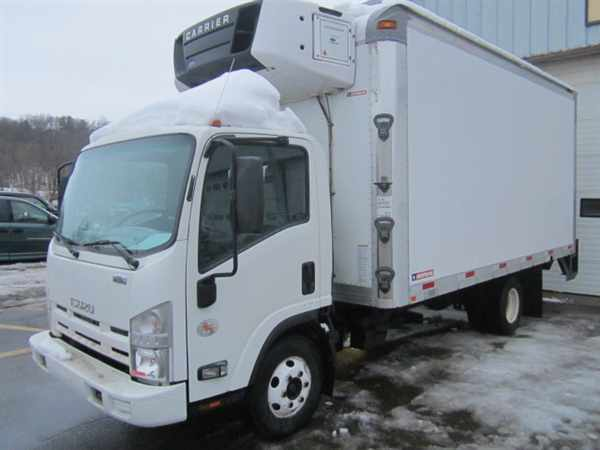2010 Isuzu Npr Hd  Refrigerated Truck