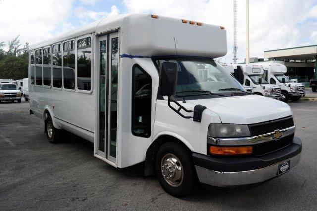 2012 Chevrolet G-4500 Eldorado 21 Passenger Bus Bus