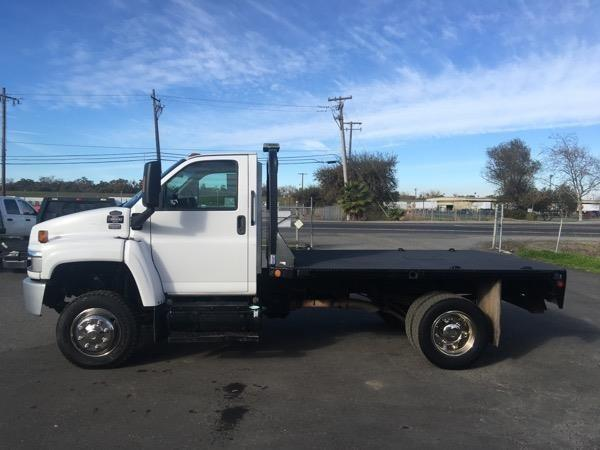 2009 Gmc C5500 Flatbed Truck