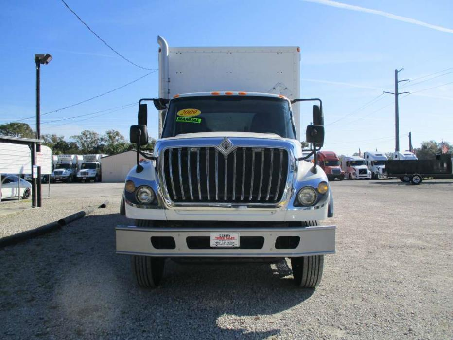 2009 International Workstar 7600 Box Truck - Straight Truck, 2