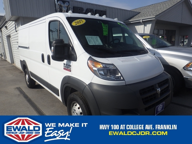 2015 Ram Promaster Cargo Van  Cargo Van