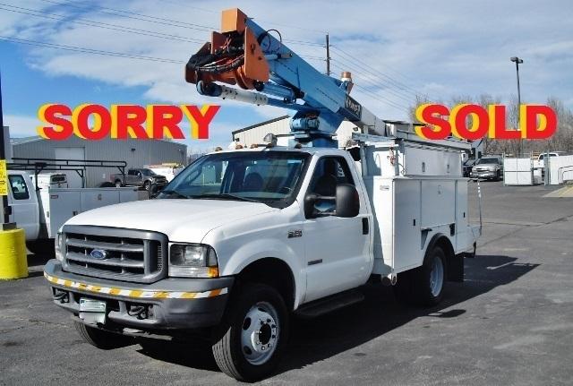 2004 Ford F550 Bucket Truck - Boom Truck