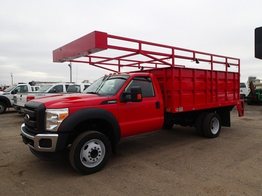2014 Ford F550 Super Duty  Flatbed Truck