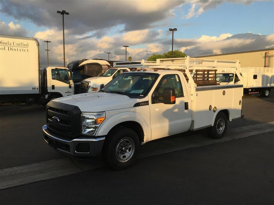2015 Ford F250  Utility Truck - Service Truck