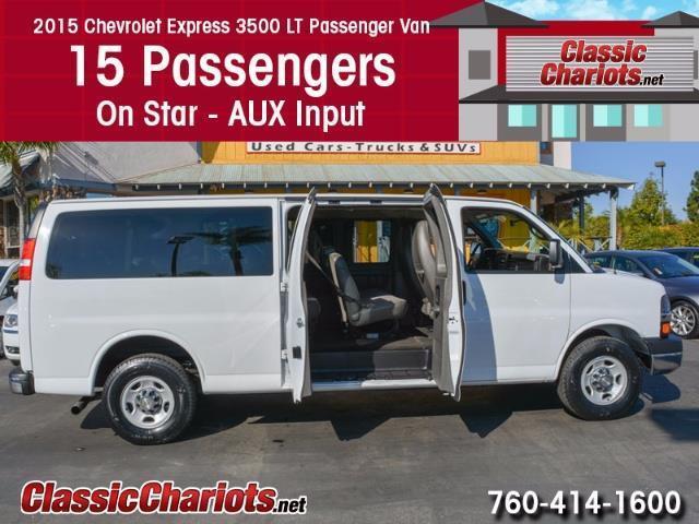 2015 Chevrolet Express 3500 Passenger Van
