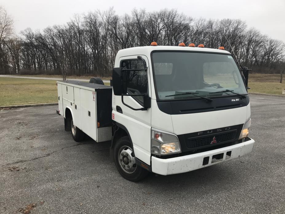 2007 Mitsubishi Fuso Fe180 Utility Truck - Service Truck, 1