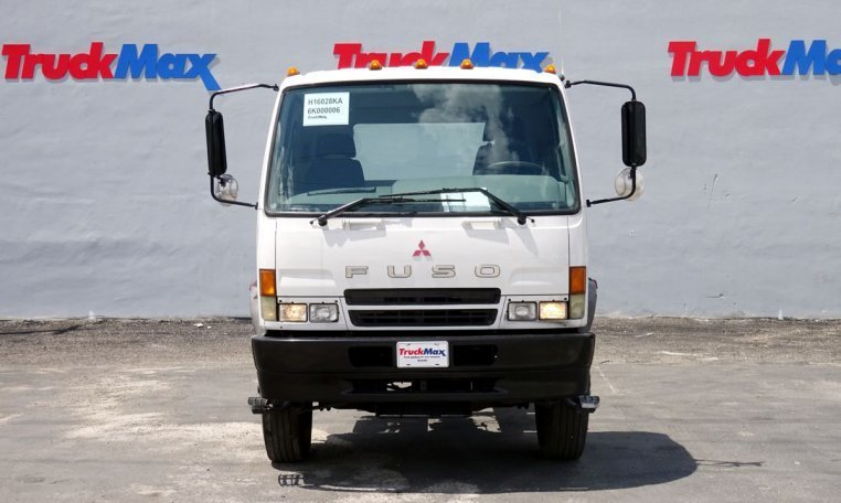 2006 Mitsubishi Fuso Fm260  Flatbed Truck
