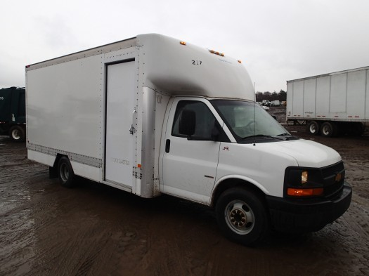 2010 Chevrolet Express 3500hd Cargo Van