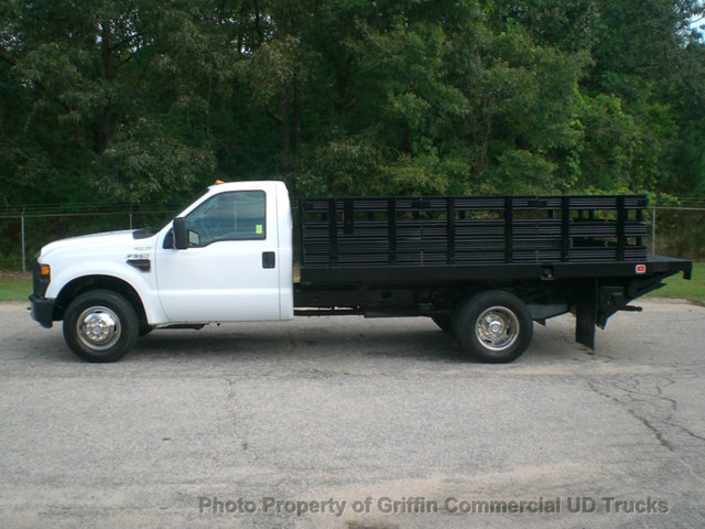 2008 Ford Super Duty Drw Rack Lift Gate Just 10k Miles  Flatbed Truck