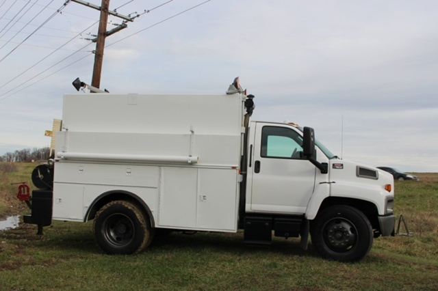 2005 Gmc C7500 Utility Truck - Service Truck, 3
