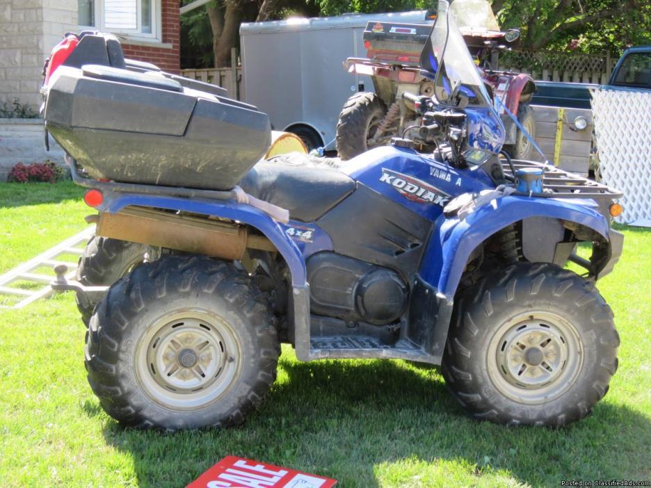2009 Yamaha Kodiak