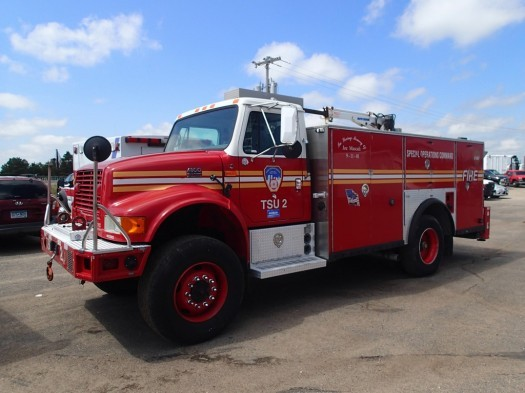 2002 International 4800 4 X 4 Saulsbury Walk Around Rescue Truck Fire Truck