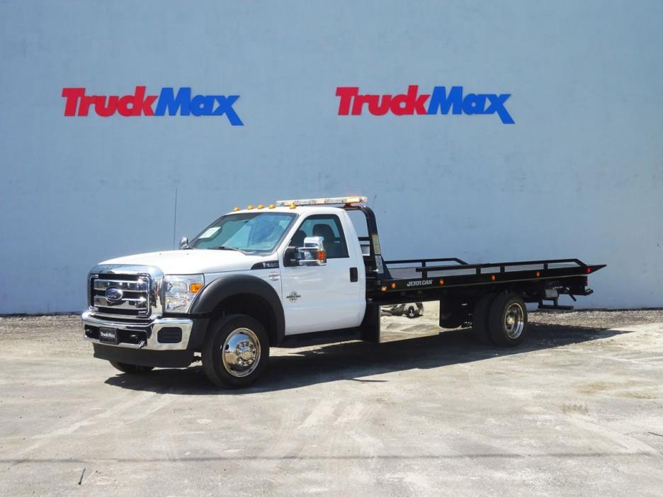 2013 Ford F550  Rollback Tow Truck