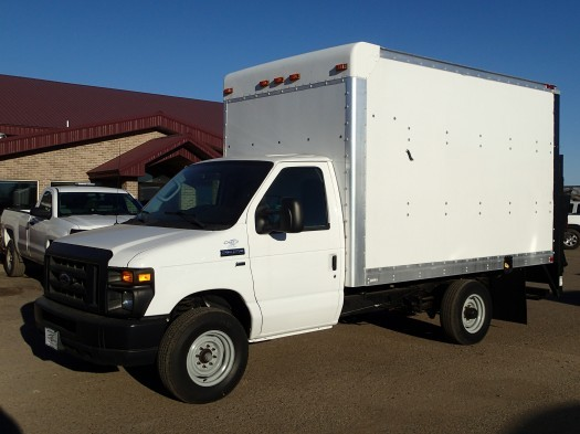 2011 Ford E-350 Super Duty Box  Box Truck - Straight Truck