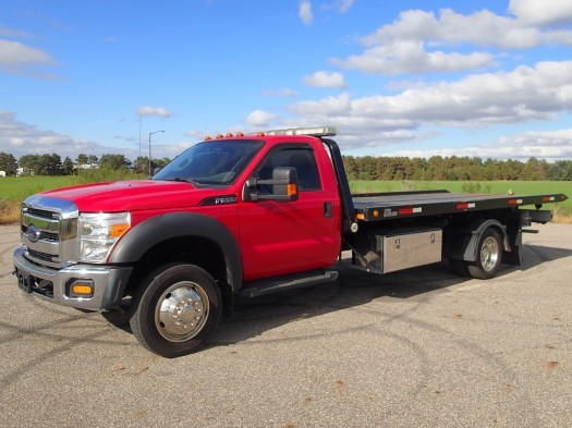 2012 Ford F550 Super Duty Tow Truck Rollback Tow Truck
