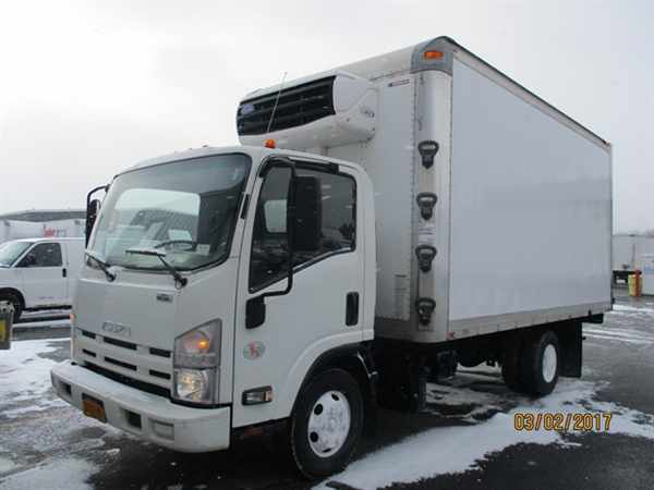 2011 Isuzu Npr Hd  Refrigerated Truck