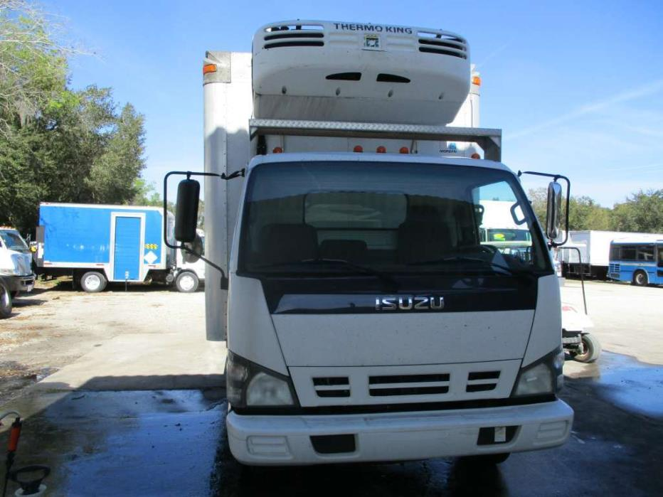 2006 Isuzu Nqr  Refrigerated Truck