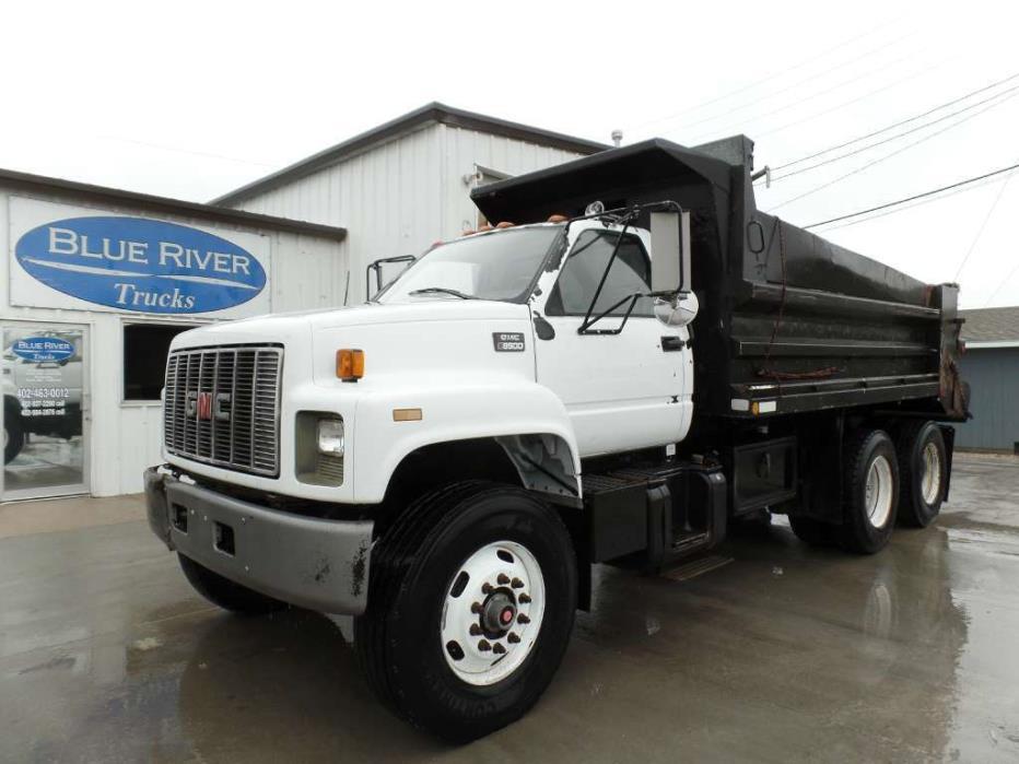 1999 Gmc C8500 Dump Truck, 2