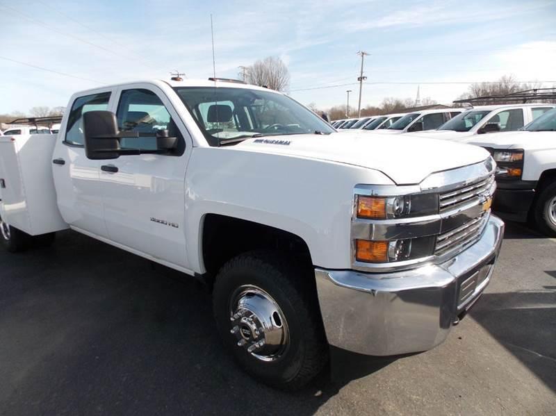 2015 Chevrolet Silverado 3500hd Utility Truck - Service Truck, 2
