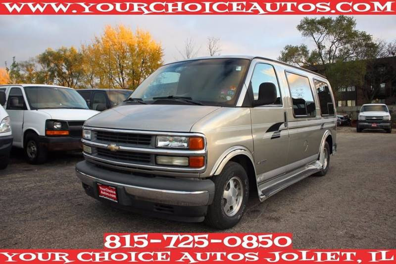 2002 Chevrolet Express Passenger Van