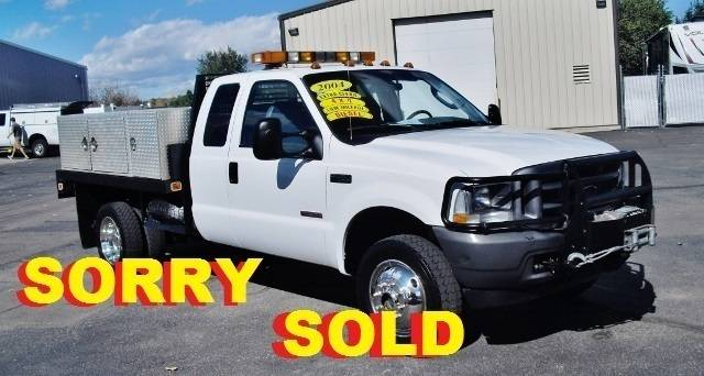 2004 Ford F450  Flatbed Truck