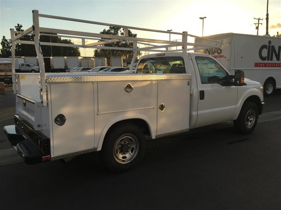2015 Ford F250 Utility Truck - Service Truck, 6