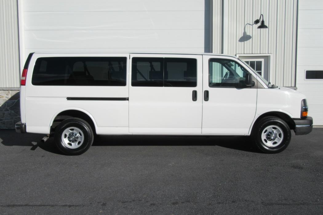 2011 Chevrolet Express G3500 Cargo Van, 1