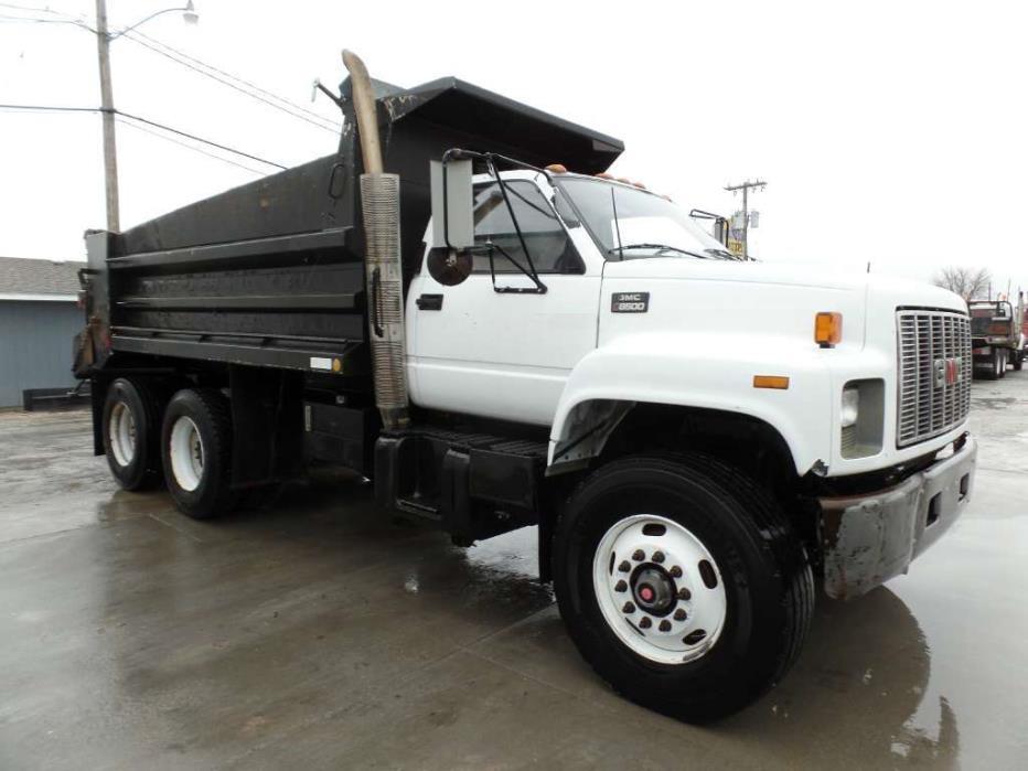 1999 Gmc C8500 Dump Truck, 7