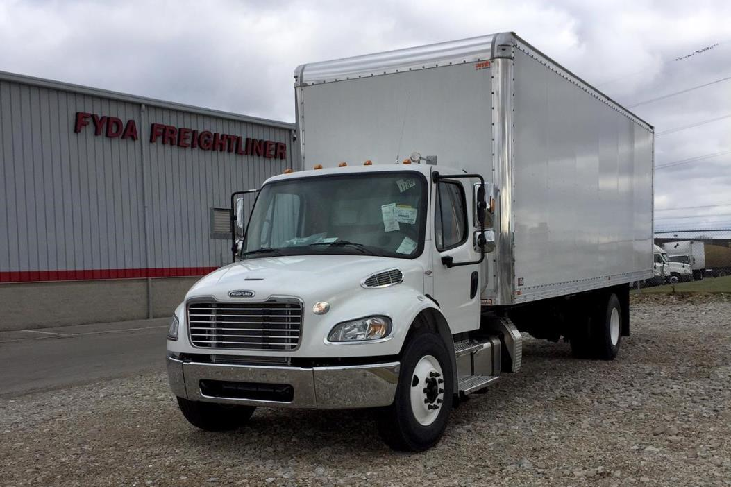 2017 Freightliner Business Class M2 106  Box Truck - Straight Truck