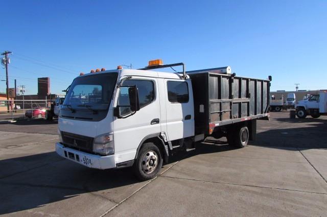 2005 Mitsubishi Fuso Fe145  Dump Truck