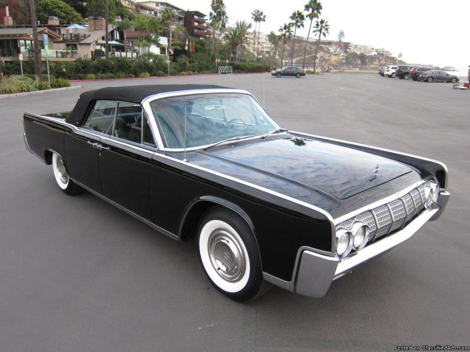 lincoln continental convertible vehicles for sale. Black Bedroom Furniture Sets. Home Design Ideas