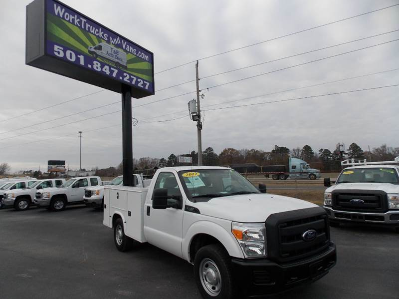 2012 Ford F-250  Utility Truck - Service Truck
