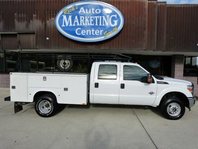 2013 Ford F350 Utility Truck - Service Truck, 4